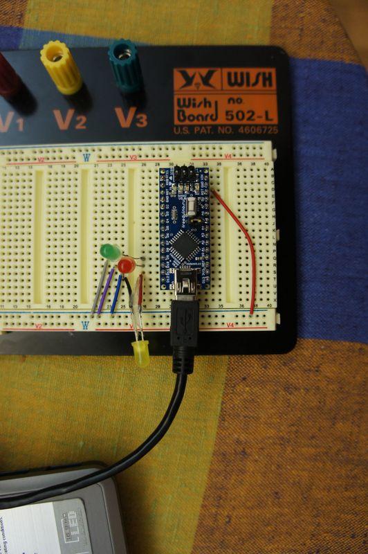 Проект «Управление компьютером светодиодами, подключенными к Arduino»