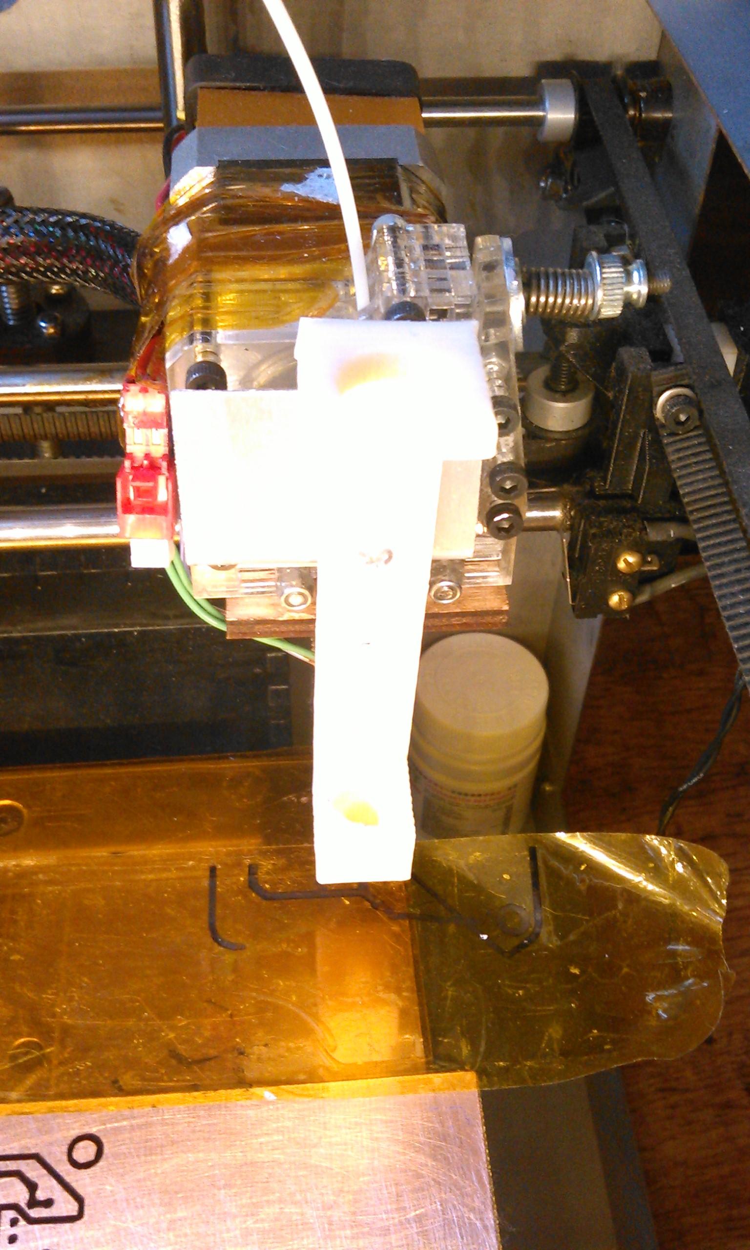Маркер для печатных плат своими руками